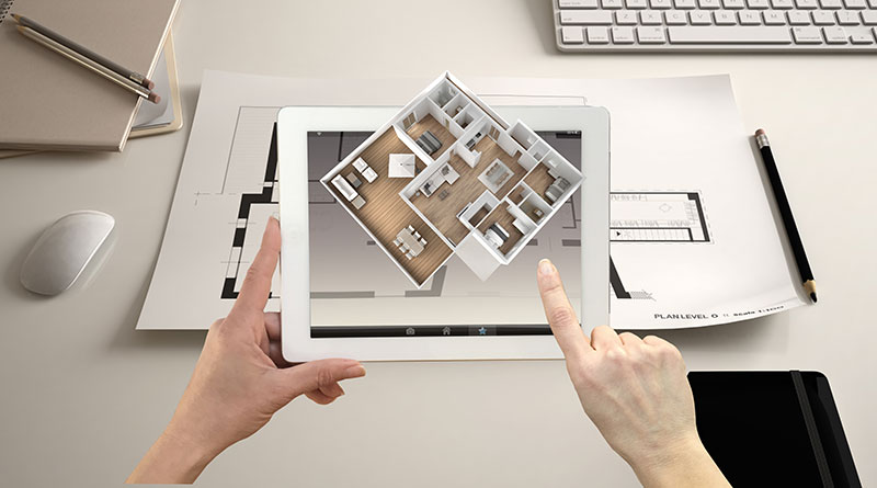 App realtà aumentata per design
