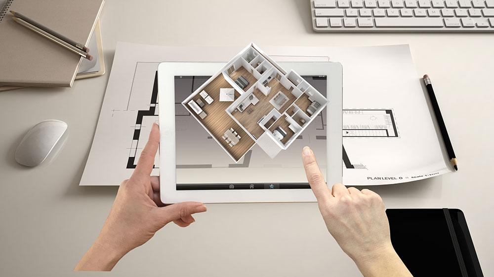 App realtà aumentata design per professionisti